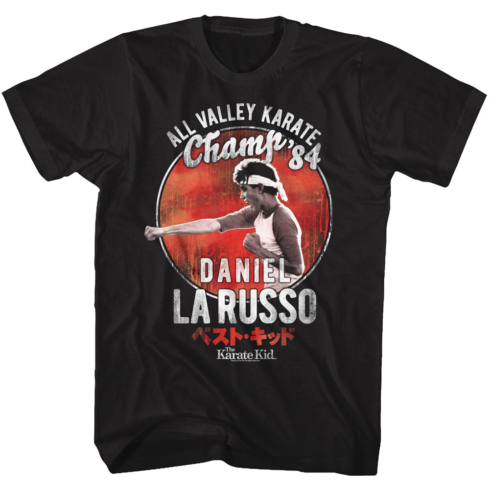 Karate Kid - Daniel Larusso Champ 84 T-Shirt