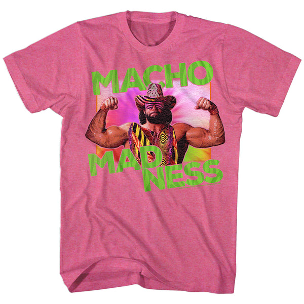Macho Man - Pink Madness T-Shirt