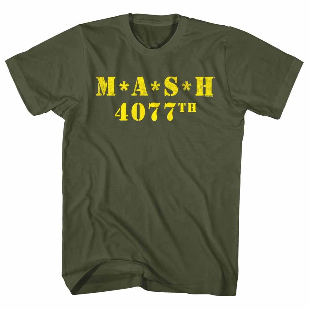 M.A.S.H. - Main Gold Logo T-Shirt