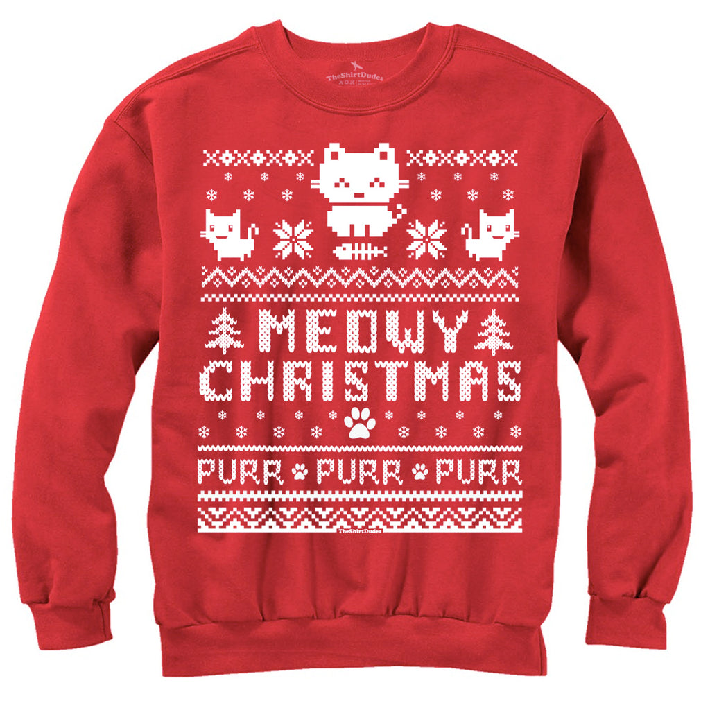 Meowy Christmas Ugly Sweater