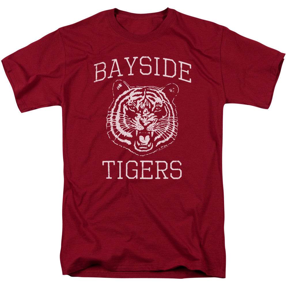 Saved by the Bell - Bayside High School Go Tigers t-shirt