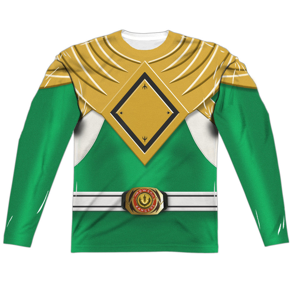 Power Rangers Green Costume Uniform Sublimation t-shirt
