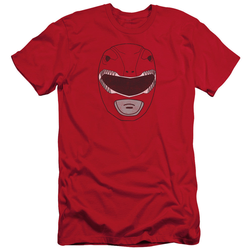 Power Rangers Red Ranger Mask t-shirt