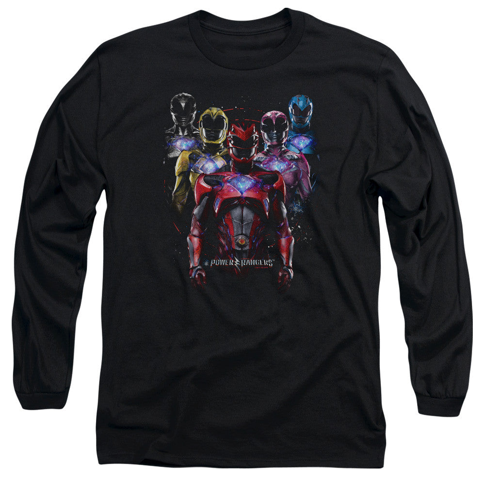 Power Rangers Movie Group Team t-shirt