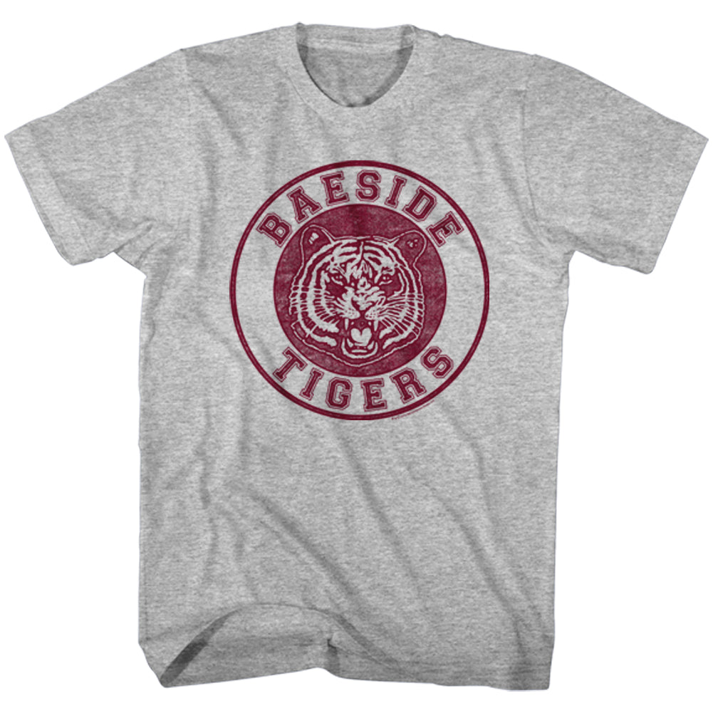 Saved by the Bell Bayside Tigers Circle Seal t-shirt