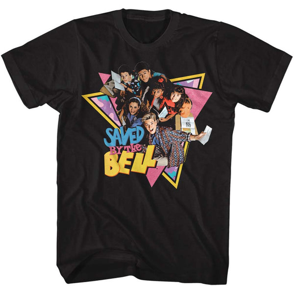 Saved by the Bell - Group Triangles T-Shirt