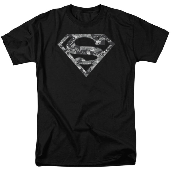 Superman Logo - Urban Military Camouflage t-shirt
