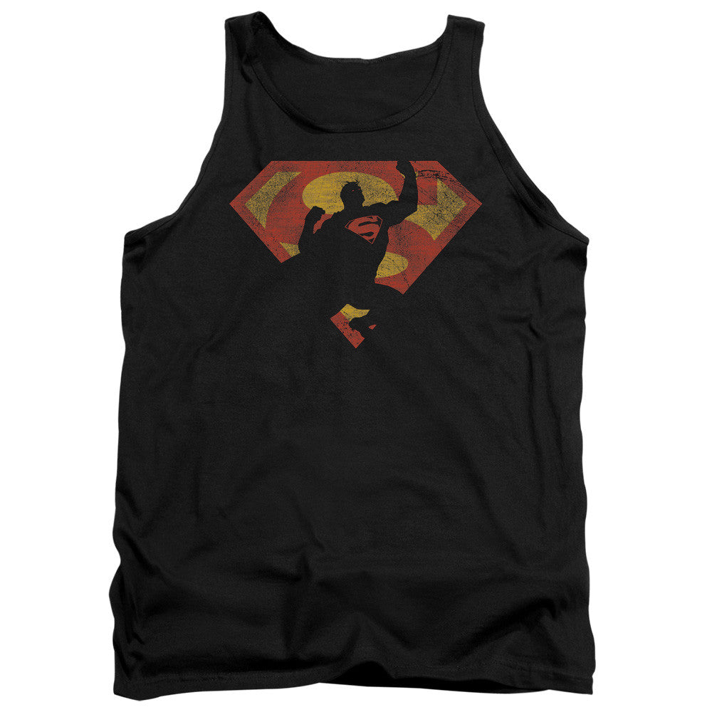 Superman - S Shield Knockout t-shirt