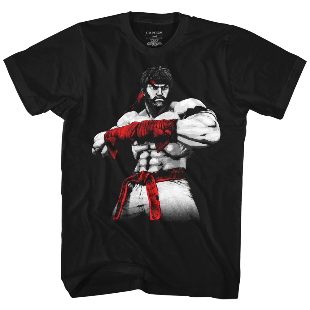 Street Fighter - Ryu Aging T-Shirt