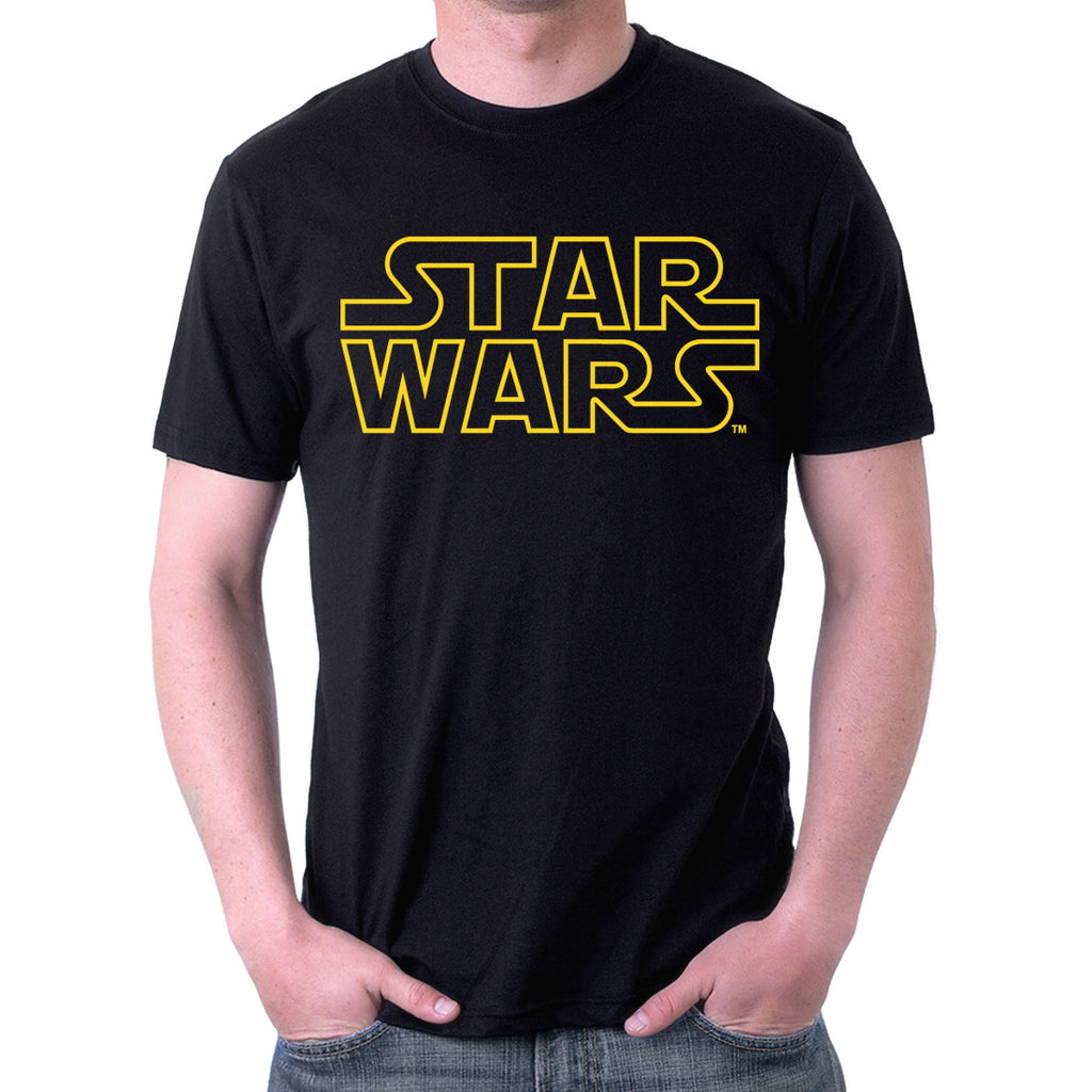 Star Wars Classic Logo (yellow version) T-Shirt
