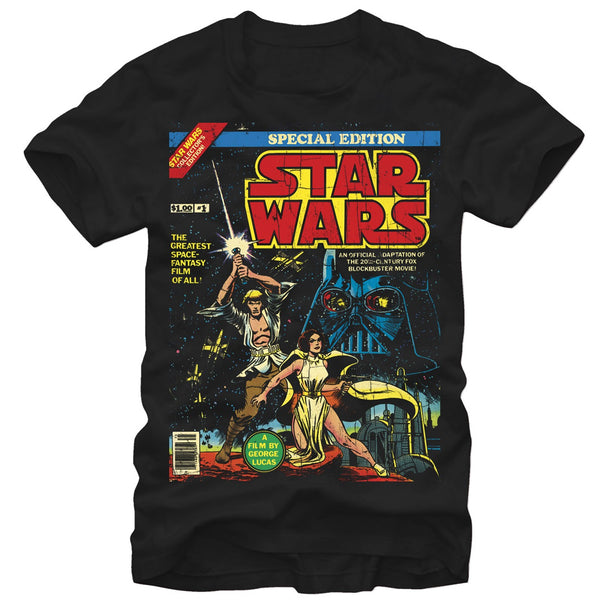 Star Wars Special Edition Comic Cover T-Shirt