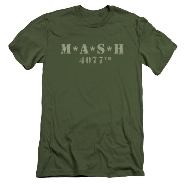 MASH 4077th Logo Military Uniform t-shirt