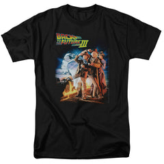 Back to the Future part 3 movie t-shirt