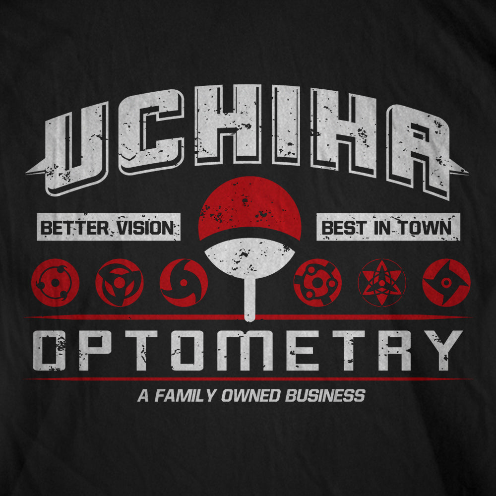 Uchiha Optometry Naruto T-Shirt