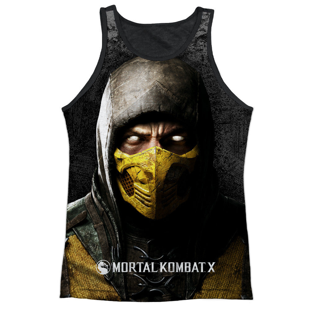 Mortal Kombat X - Scorpion Sublimation Tank Top