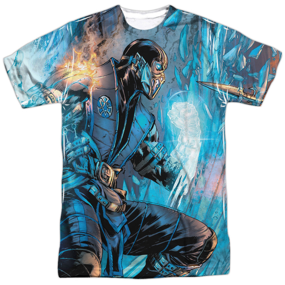 Mortal Kombat X - Sub-Zero & Scorpion Sublimation t-shirt