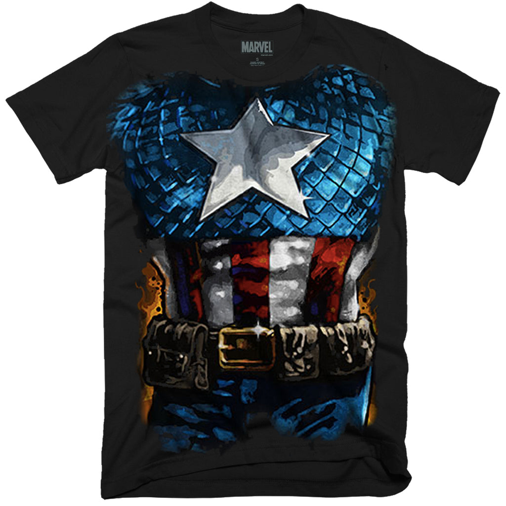 Captain America Costume Outfit T-Shirt