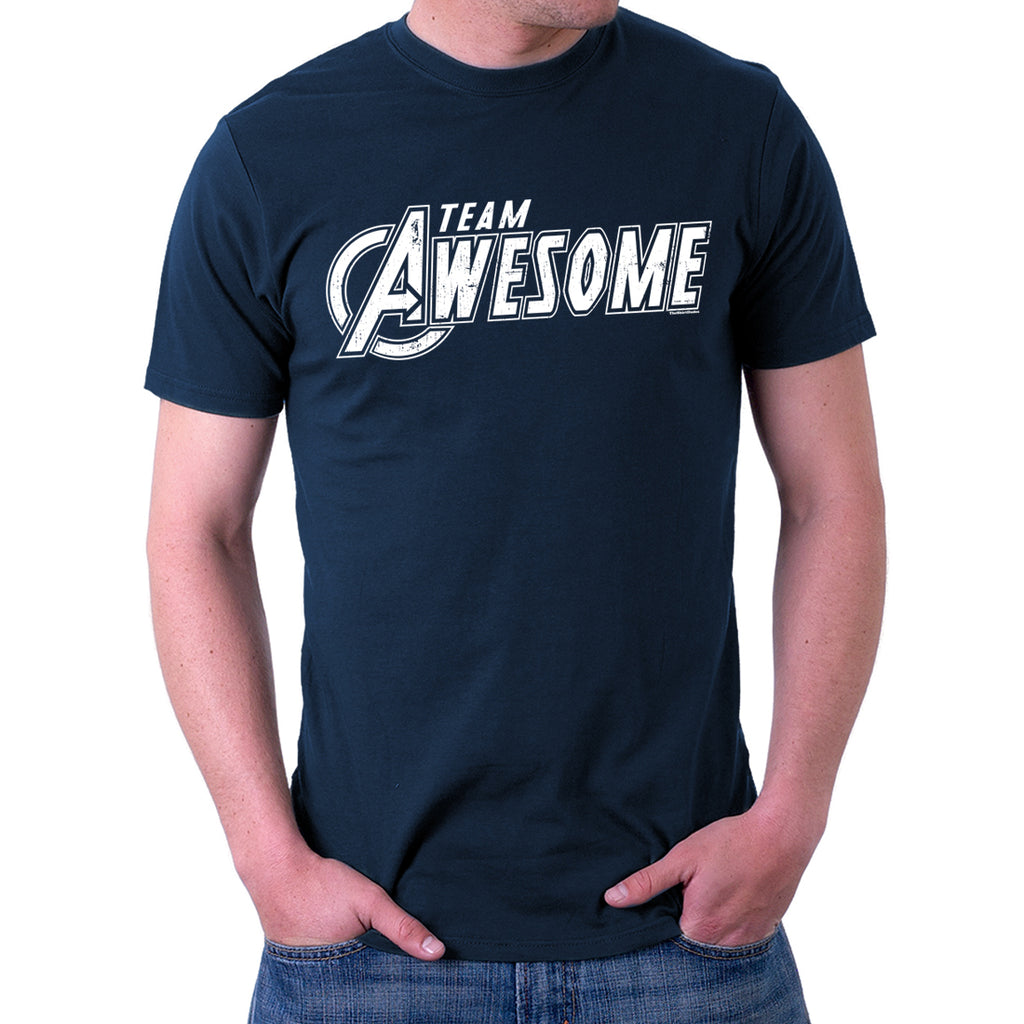 Team Awesome Avengers Style T-Shirt