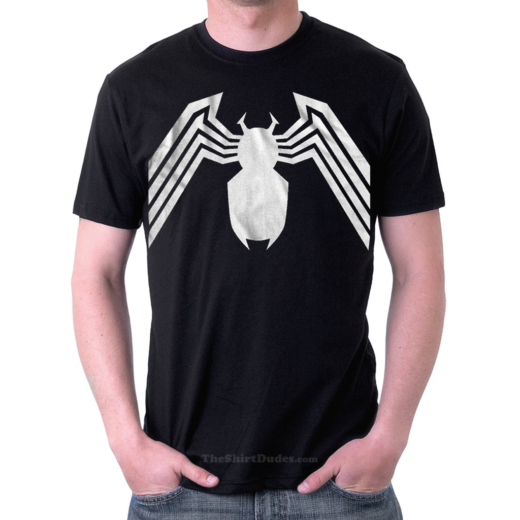 Venom or Black Spiderman Costume Cosplay T-Shirt