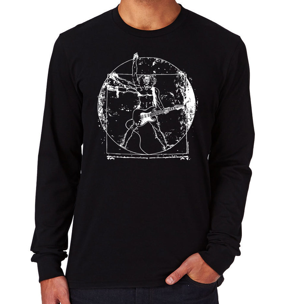 Vitruvian Guitar Man T-Shirt
