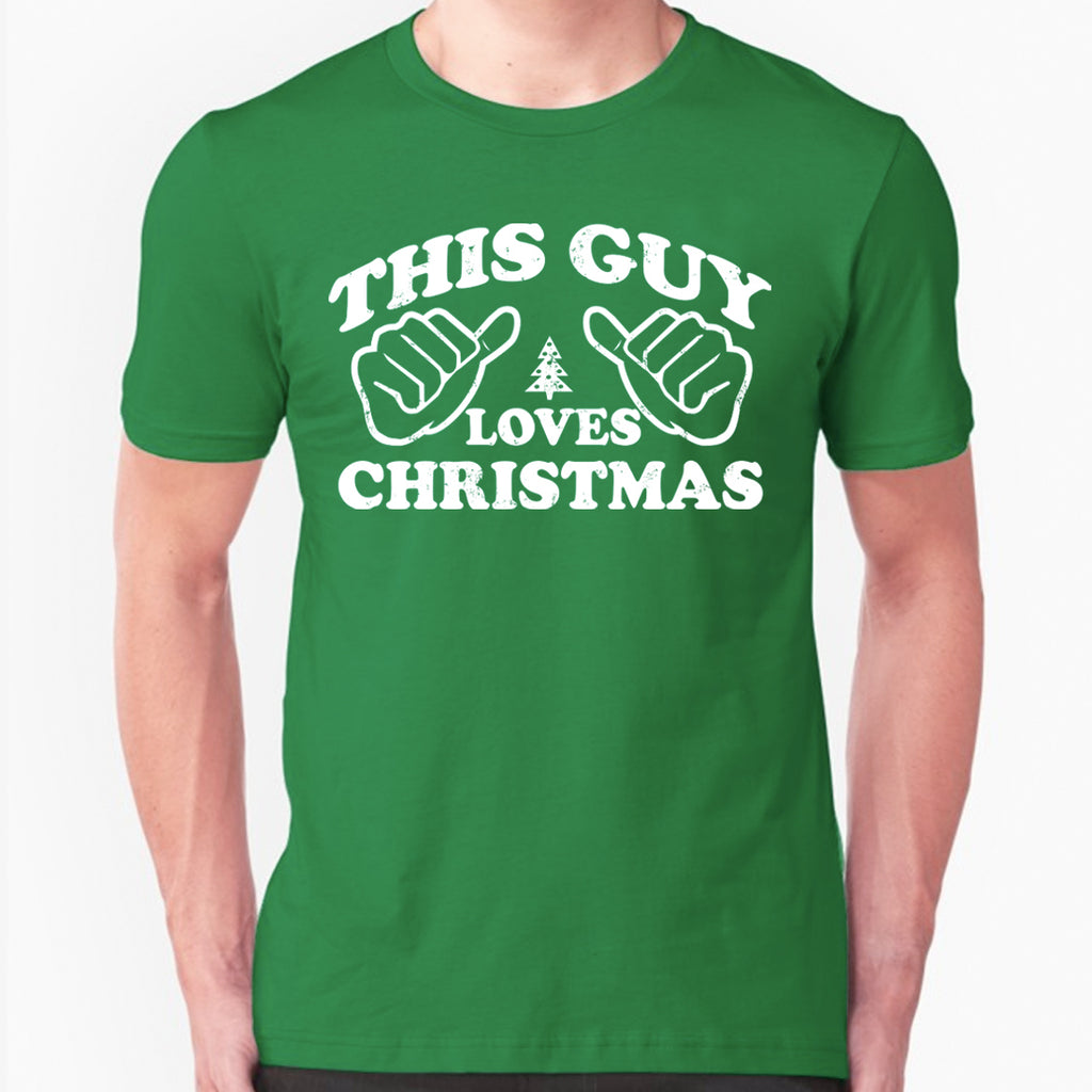 This Guy Loves Christmas T-Shirt