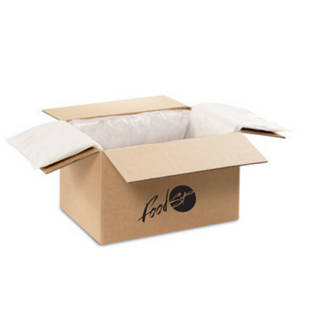 Packaging box with logo