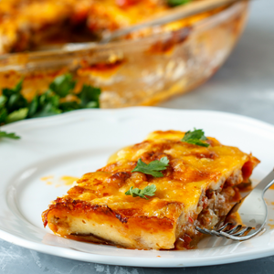 Pork Moussaka