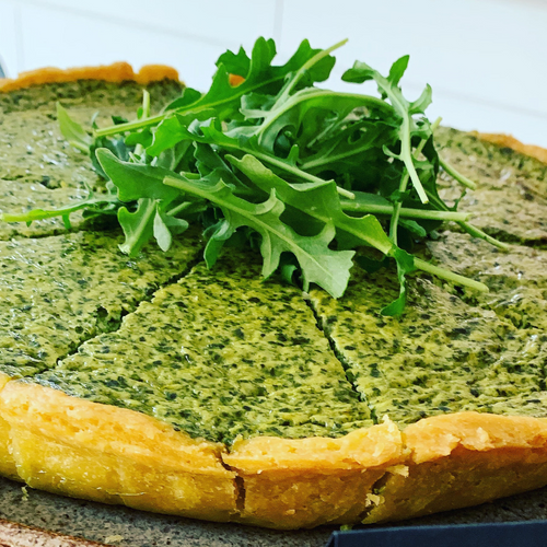 Spinach, Herb & Cheese Tart