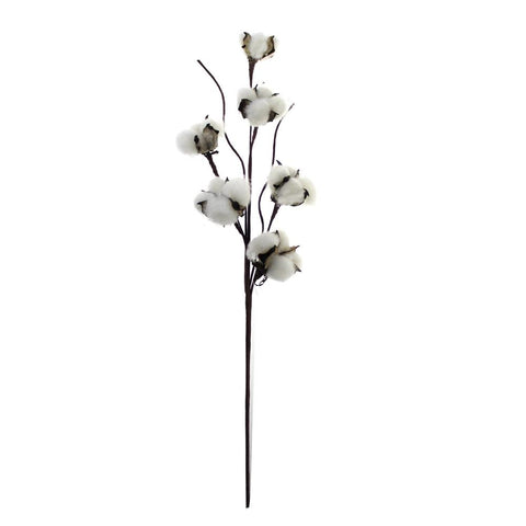 artificial cotton boll stems