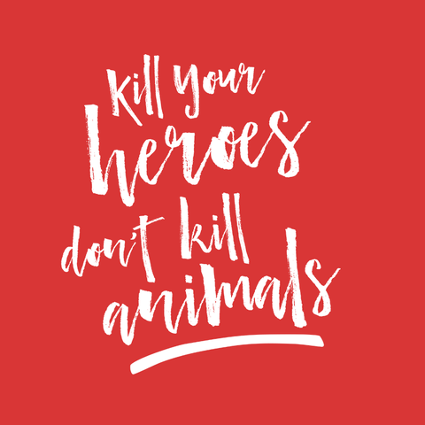 Kill Your Heroes Women's t-shirt