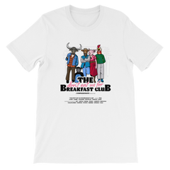 The Don't Eat Us For Breakfast Club men's t-shirt