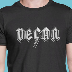 Vegans Rock men's t-shirt