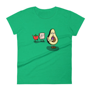 Avocado And Tomato Are Toast women's t-shirt