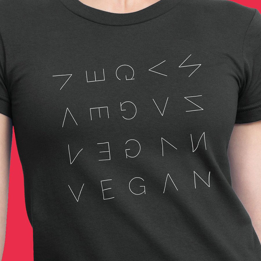 Vegan Awakening women's t-shirt
