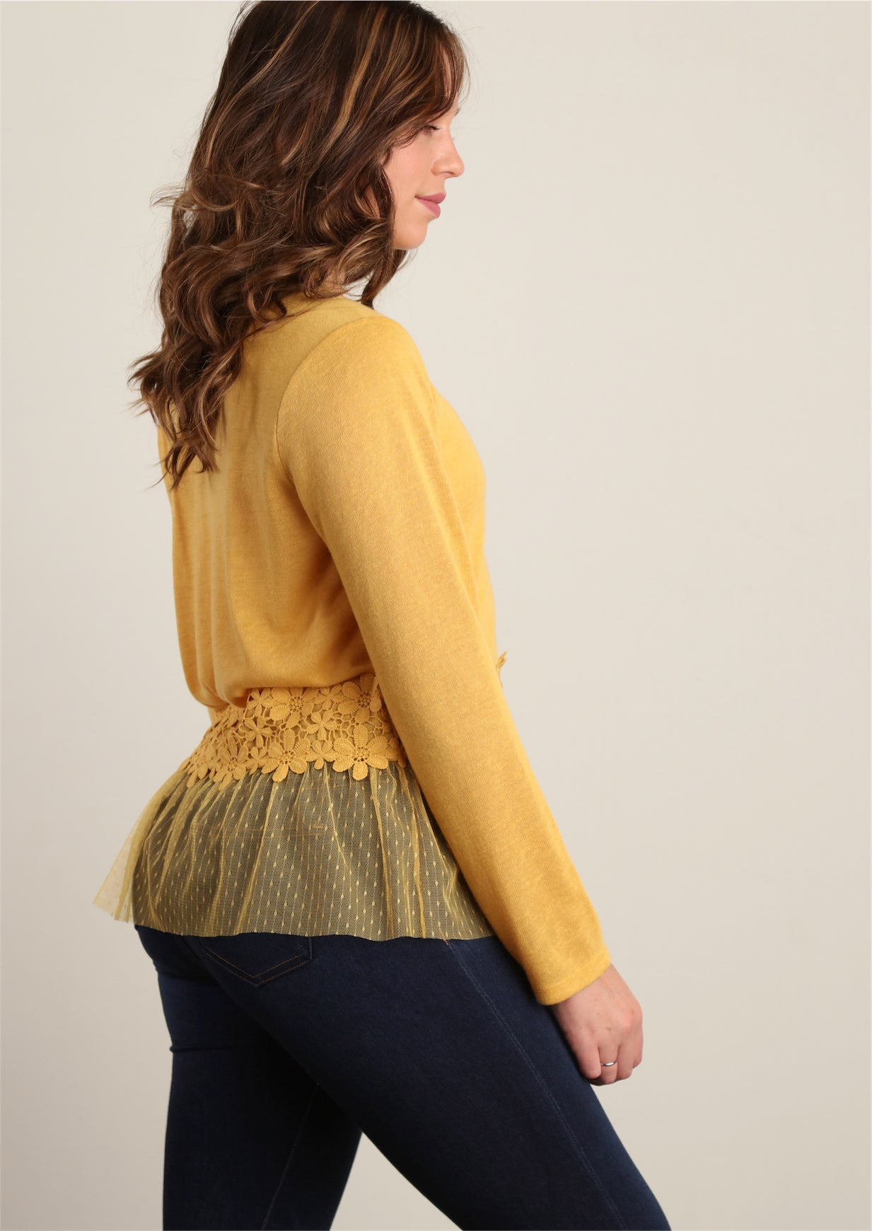 Mustard Sweater Knit