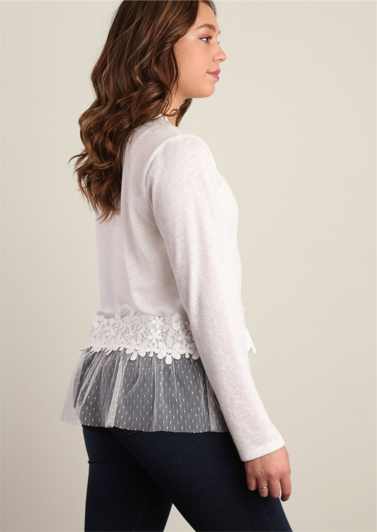 White/Ivory Sweater Knit