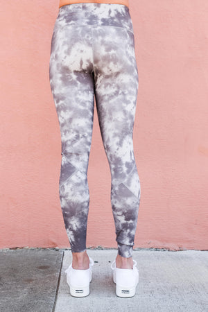 Varley Bedford Tight Silver Tie Dye