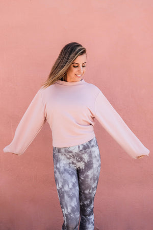 Varley Weymouth Cinder Rose Sweat