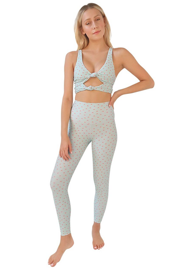 Piper Legging: Mint