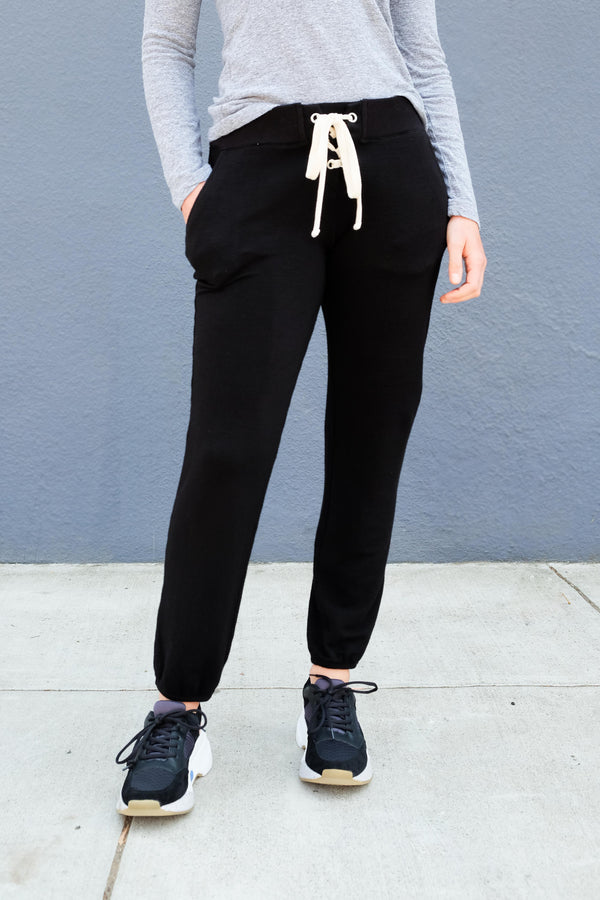 Supersoft Lace Up Sweatpants