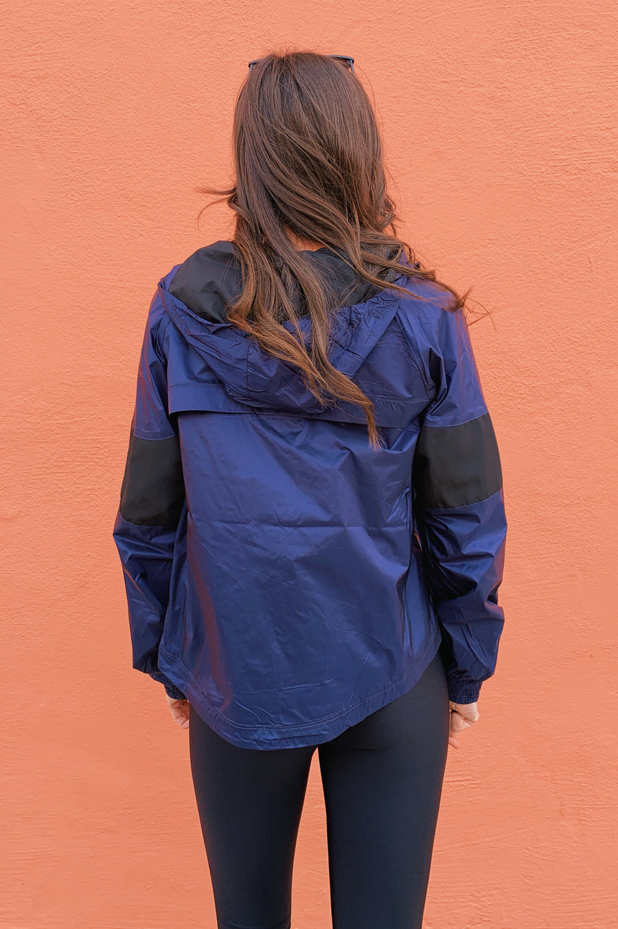 ALALA Tech Jacket Black & Blue