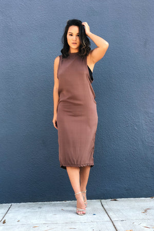 Olympia Activewear Marni Dress Cocoa