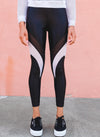 Frame High Rise Legging Black/White