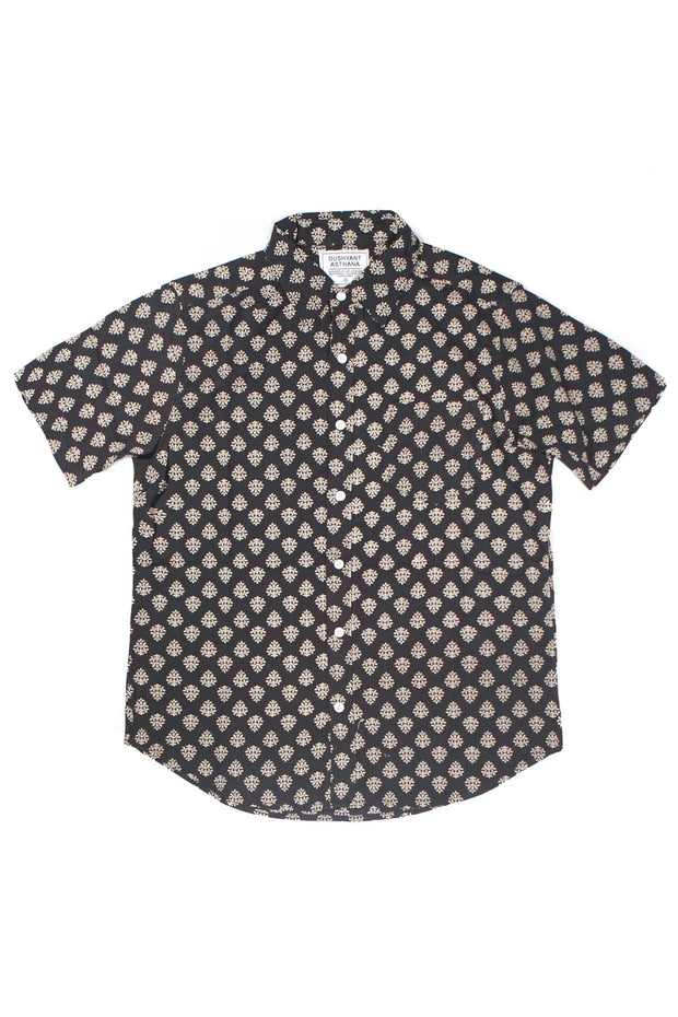 Folk Shirt - Black