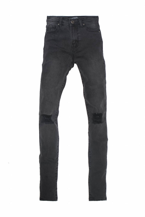 Isabel - Skinny / Mid-Rise (Washed Black)