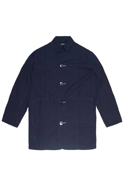 Men's Shop Coat - Navy