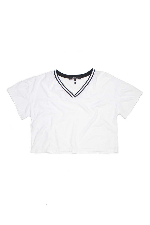 SOB - Finely Football Cropped T Shirt