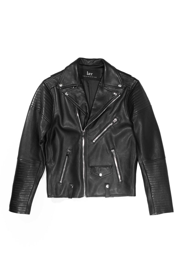Men's Quilted Moto