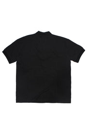 Black Mock Neck Tee