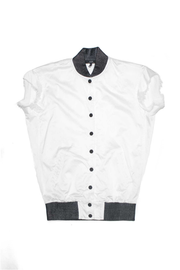 SOB - Corey Cut Off Jacket (White)